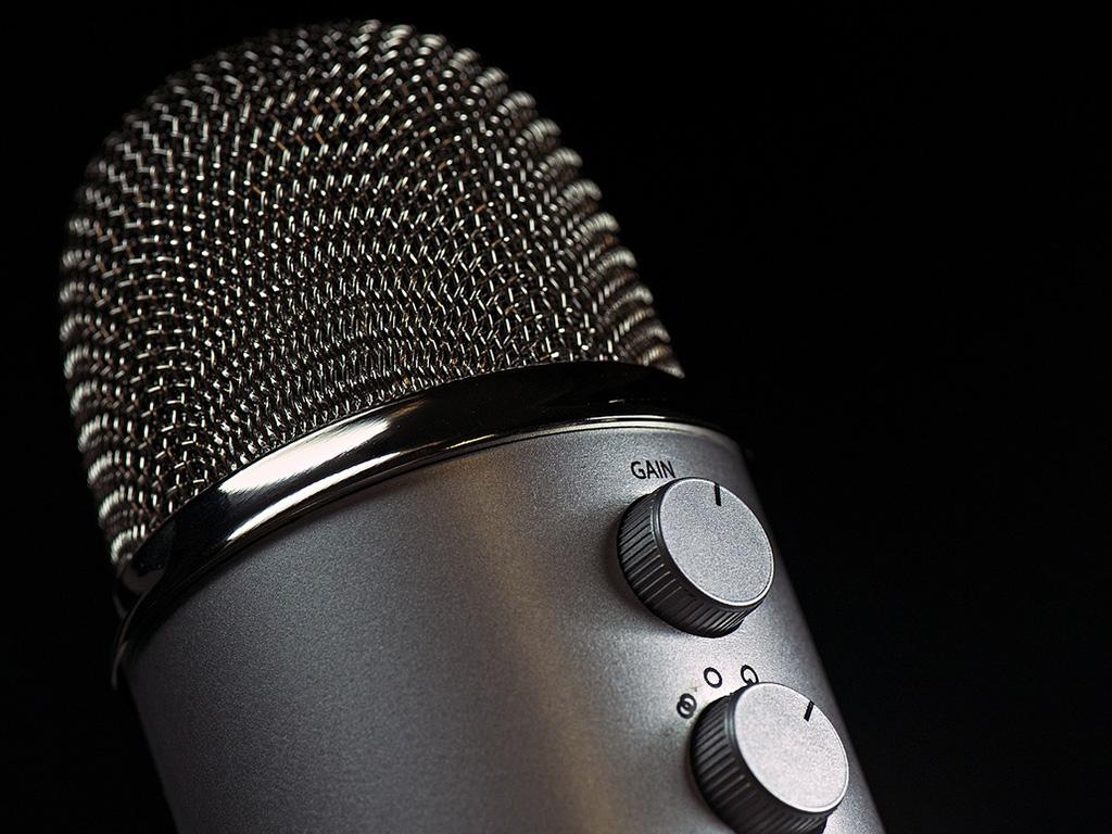 Mikrofon, Bild von Jorge Guillen auf pixabay